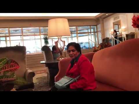 Aruna & Hari Sharma iPhone7Plus Video Omni Shoreham Lobby Washington DC, Nov 17, 2017