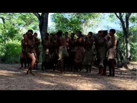 Bushmen dance Namibia