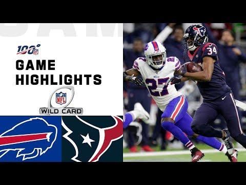 Bills vs. Texans Wild Card Round Highlights | NFL 2019 Playoffs