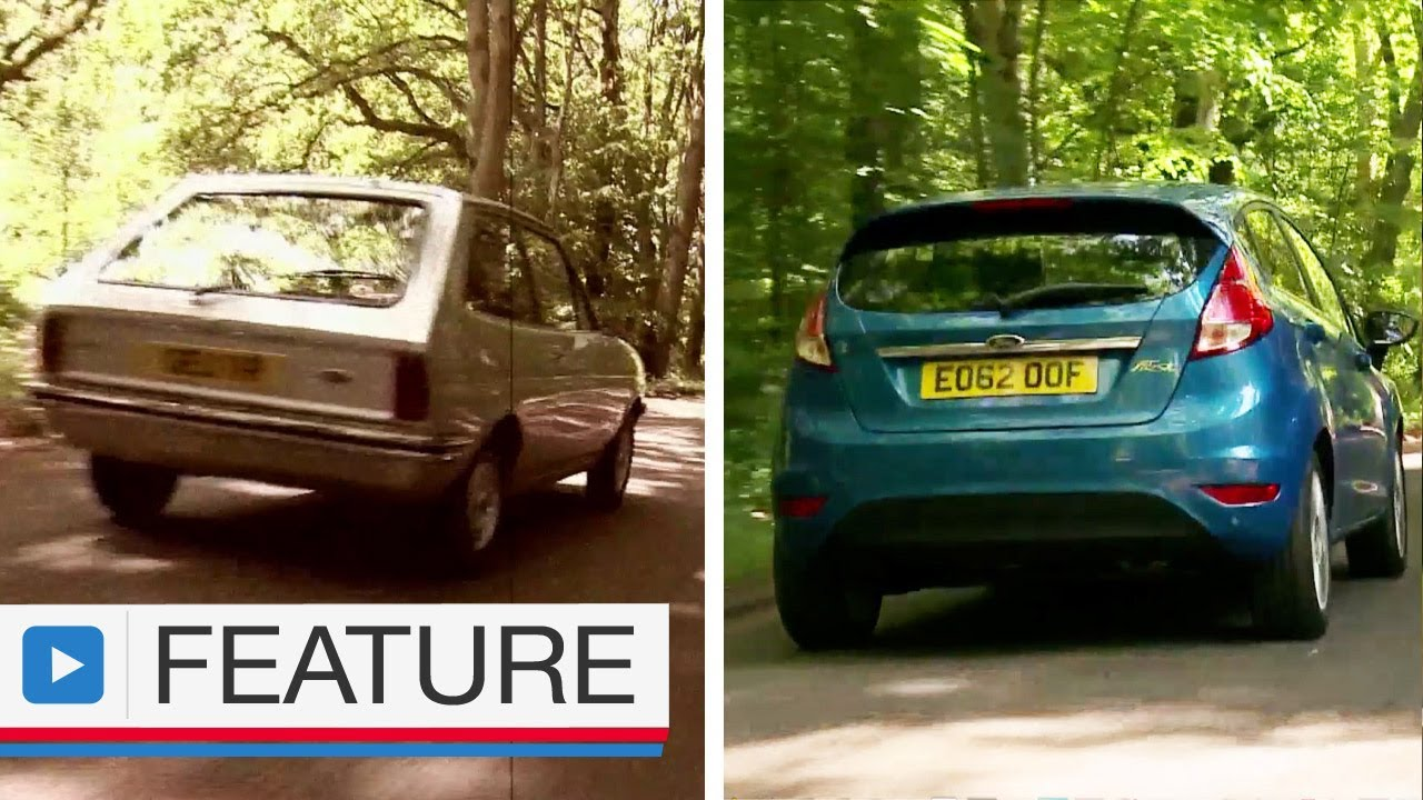 ford fiesta vs ford fiesta how much has it changed over 35 years youtube. Black Bedroom Furniture Sets. Home Design Ideas