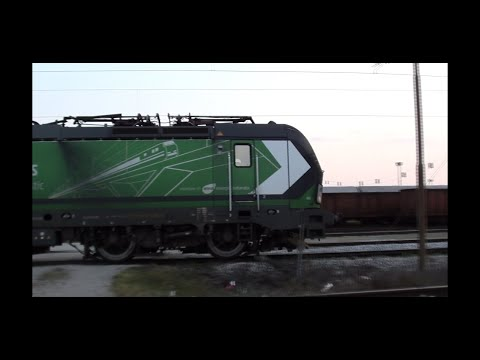 ENNA PPD TRANS- Vectron,  Freight Train In Zagreb.