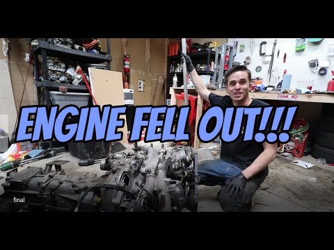 I DROPPED MY ENGINE | Project 914 Episode 40