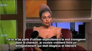 Lady Gaga interview Gayle Show - Sous Titres Français