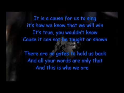 Machinae Supremacy - Rise Of A Digital Nation (with lyrics)