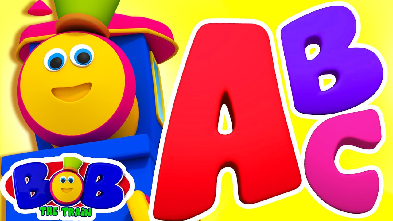 Download Alphabet Ride With Bob The Train | ABC Song | Preschool Learning | Nursery Rhymes & Songs | Kids Tv