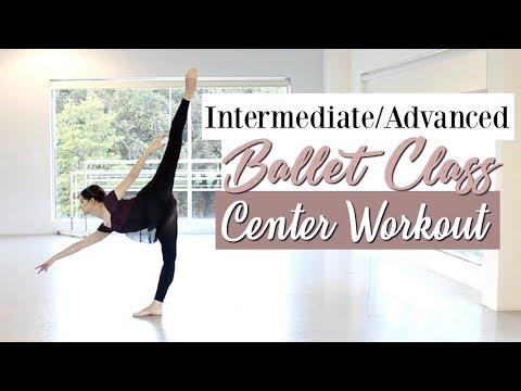 Intermediate Advanced Ballet Class Center | Kathryn Morgan