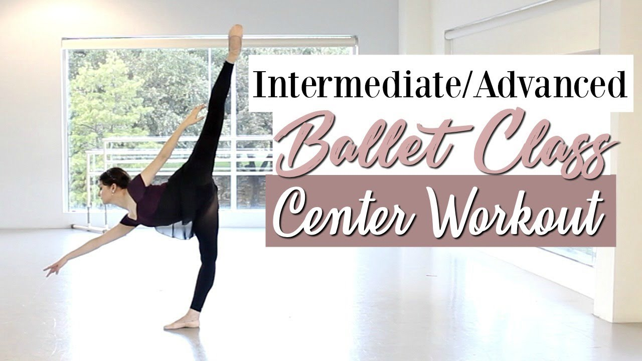 f27252969 Intermediate Advanced Ballet Class Center | Kathryn Morgan - YouTube