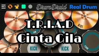Video TRIAD - Cinta Gila (Ost Anak Jalanan) (Cover Real Drum) download MP3, 3GP, MP4, WEBM, AVI, FLV Oktober 2018