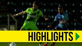 HIGHLIGHTS: Wycombe Wanderers 3-4 Norwich City