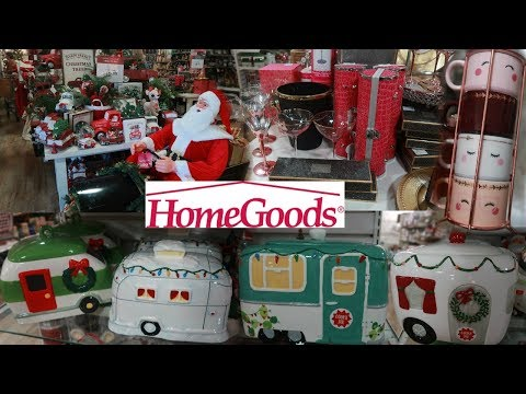 HOME GOODS SHOPPING!!! CHRISTMAS DECOR & MORE