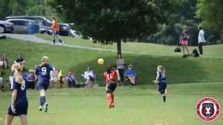 TOCATV: Toca Juniors U13 Girls CHEETAHS (IN ACTION) 2nd Half Highlights