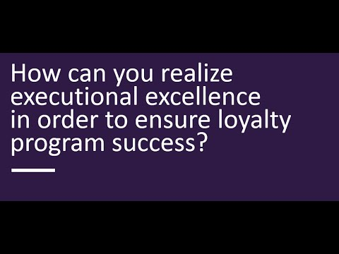 Webinar: Measure Twice, Cut Once! Get Your Loyalty Program Right From The Start.