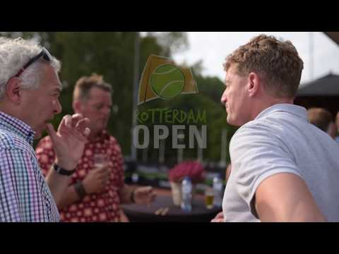 Business Borrel | Rotterdam Open 2017