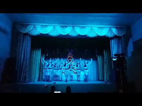 """Ansamblul de dans""""Firicel de Busuioc"""" , L.T """"Ion Pelivan"""" dans modern Bollywood"""