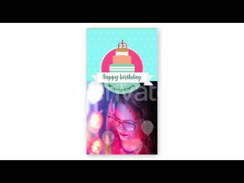 Happy Birthday - After Effects template from Videohive