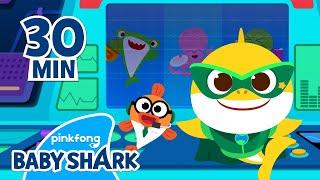 """Remix - Baby Shark Doo Doo Doo | +Compilation | Baby Shark Songs | Baby Shark Official"""