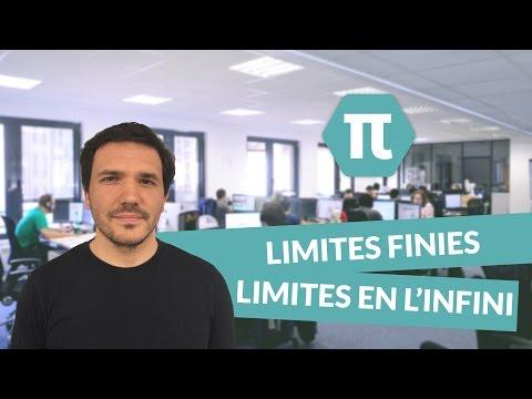 Limites finies - Limites en l'infini - Limites de fonctions - Mathématiques - Bac S