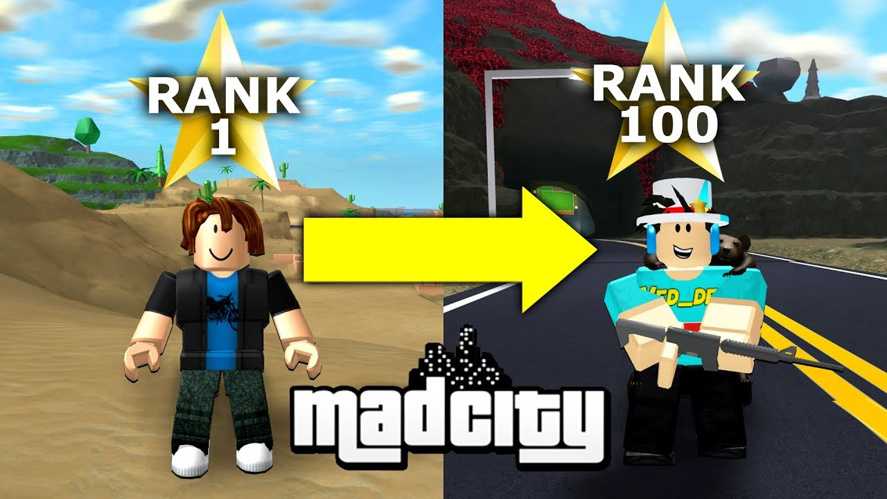 How To Rank Up Fast In Mad City Xp Grinding Method Roblox