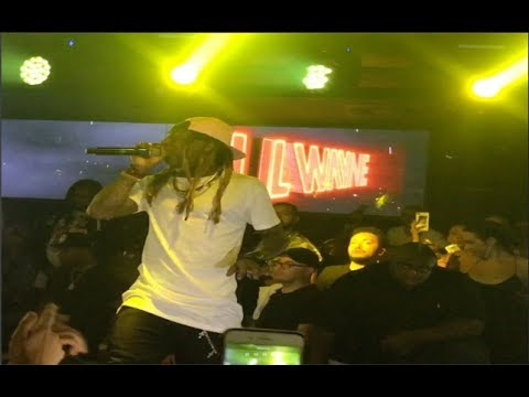 Lil Wayne Shuts It Down At Shoko