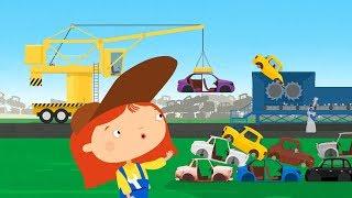 Мультфильм про машинки - Доктор Машинкова  - Утилизация старых автомобилей  - новая серия