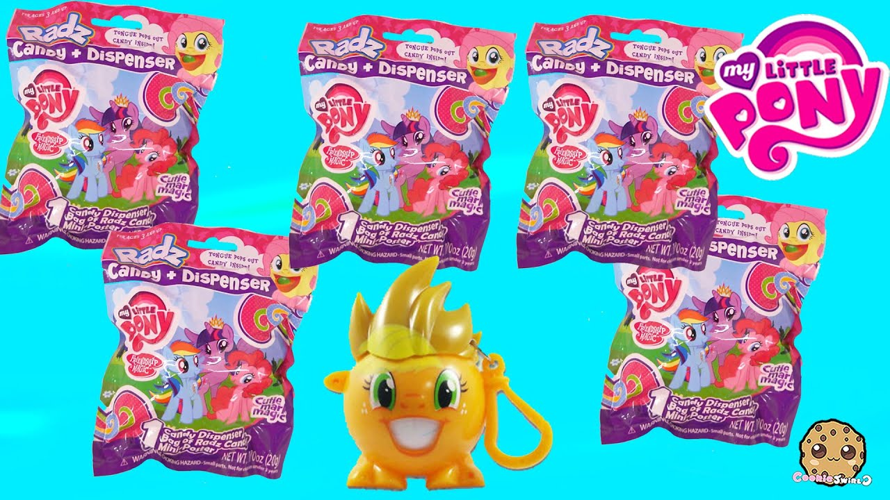 Girl With Tongue Out Wallpaper 5 My Little Pony Radz Candy Surprise Mystery Blind Bags