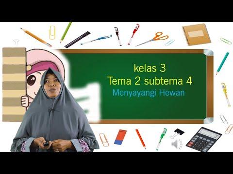 Video Pembelajaran Kelas 3 Tema 2 Subtema 4 Menyayangi…