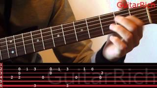 Yiruma River flows in you (Сумерки) соло перебор, видео разбор на гитаре 3/3часть