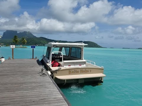 Conrad Bora Bora Nui Resort, French Polynesia - Speedboat Airport Transfer