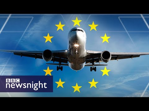 Brexit and aviation safety - BBC Newsnight
