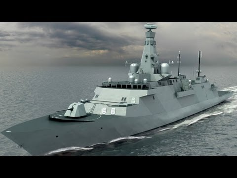 Type 26 Global Combat Ship - Latest Footage