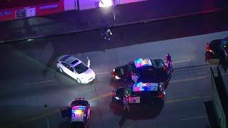 Police pursuit suspect shows off dance steps