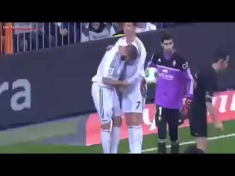 the incredible jump of Cristiano Ronaldo