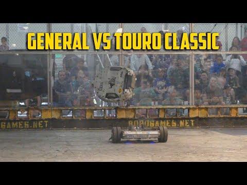 General Vs Touro Classic | RoboGames 2017