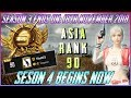 RANK 100 ASIA CONQUEROR   LIVE RANK PUSH   BACK TO BACK CHICKEN DINNER   like and subscreb