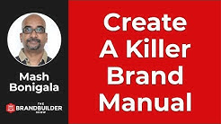 How To Create A Killer Brand Manual Or Brand Style Guide - The Brand Builder Show #30