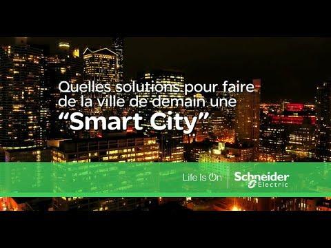 Qu'est ce qu'une Smart City ? Schneider Electric