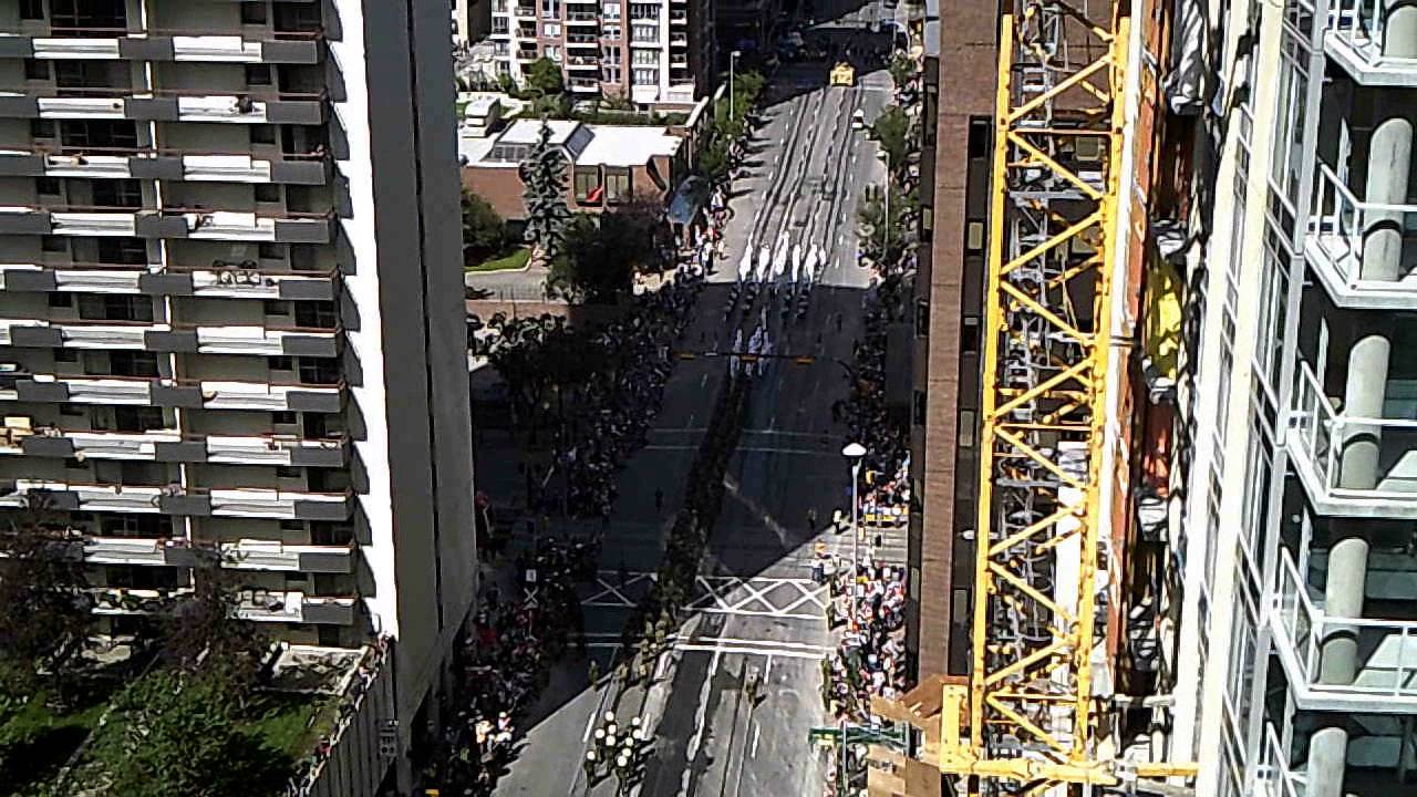 Calgary Stampede Parade 2016 Tanks On 6th Avenue Youtube