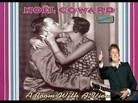 Chords For Paul Mccartney A Room With A View Noel Coward