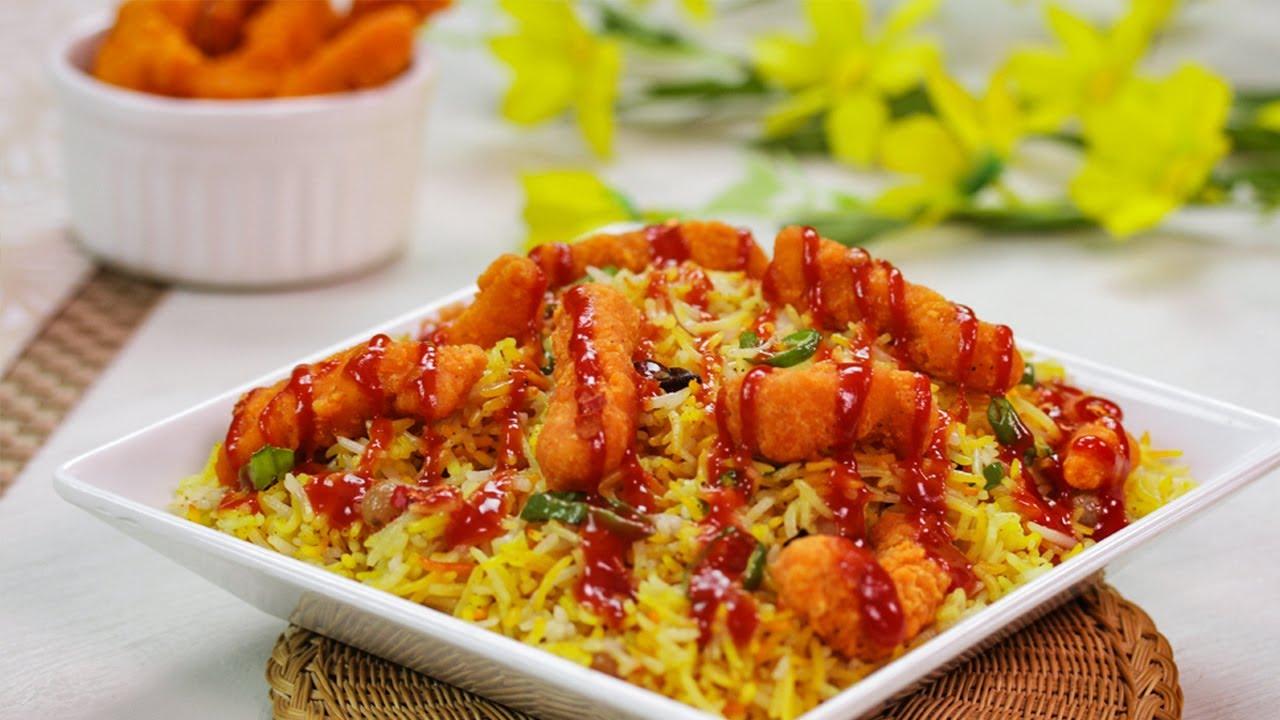 Arabian Rice Recipe Better Than KFC By SooperChef