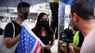 MUST SEE: Hong Kong protesters plead for Trump's help | Avi Yemini