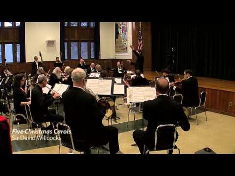 David Wilcocks, FIve Christmas Carols, Chappaqua Orchestra & NewWSO, Benjamin Niemczyk