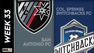 San Antonio FC vs. Colorado Springs Switchbacks FC: October 19, 2019