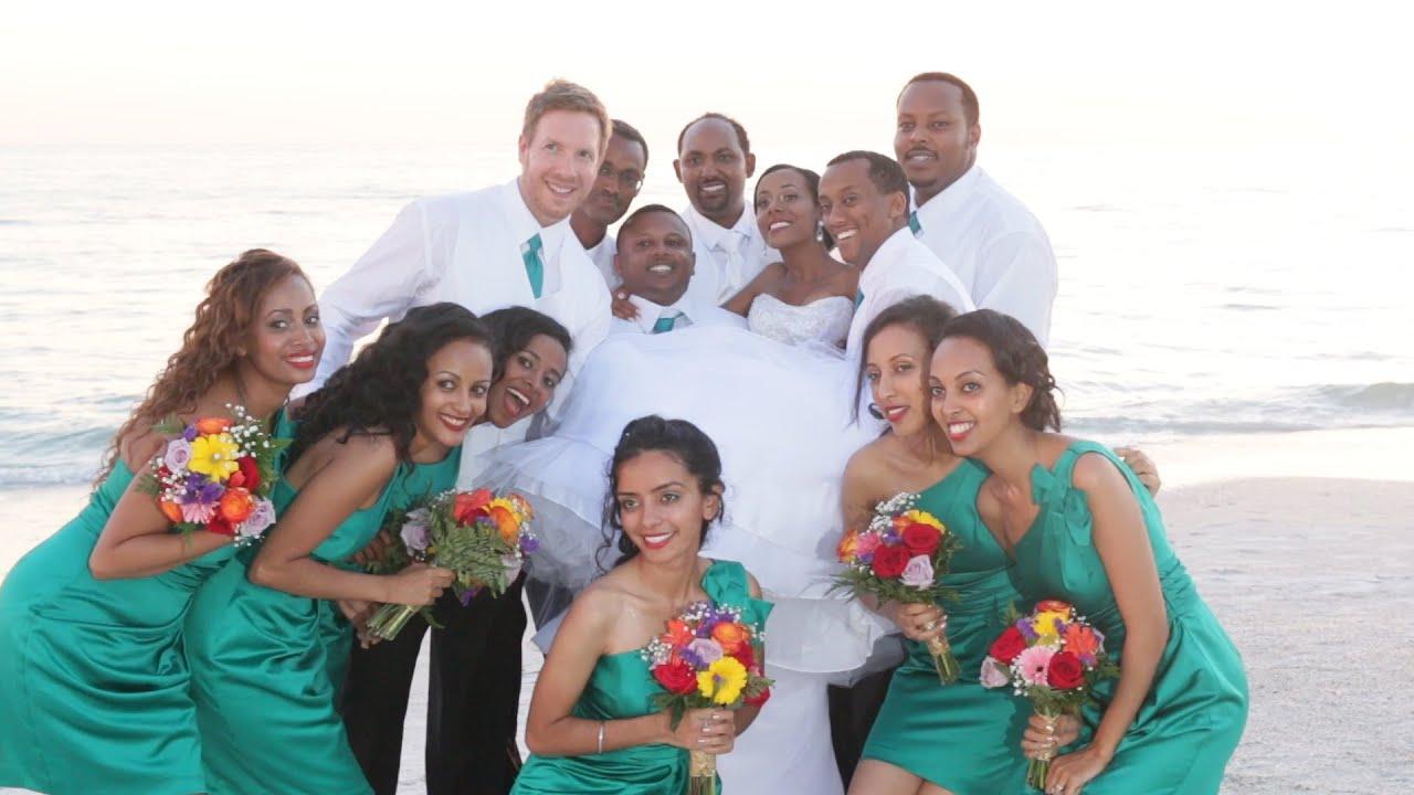 ethiopian wedding tampa st pete beach florida youtube