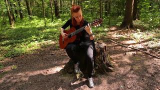 Marina Krupkina plays Prelude and Fugue by Nikita Koshkin (HD-video)