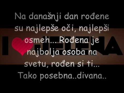 Ljubavi Srecan ti rodjendan.wmv   YouTube