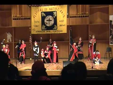 Tlingit and Haida Dancers of Anchorage