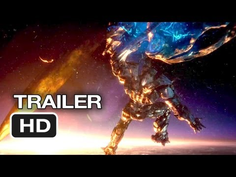 Pacific Rim Official Theatrical Trailer (2013) - Guillermo d