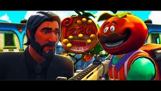 How John Wick Delivers Tomatoheads Pizza - A FORTNITE SHORT FILM