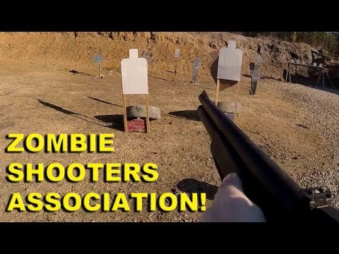 Zombie Shooters Association! Beginner Friendly Competitive Shooting