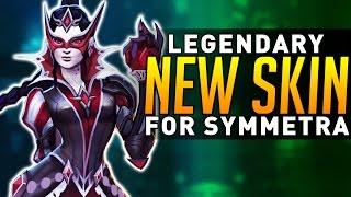 Overwatch - NEW Symmetra Legendary Skin! (FINALLY!!)